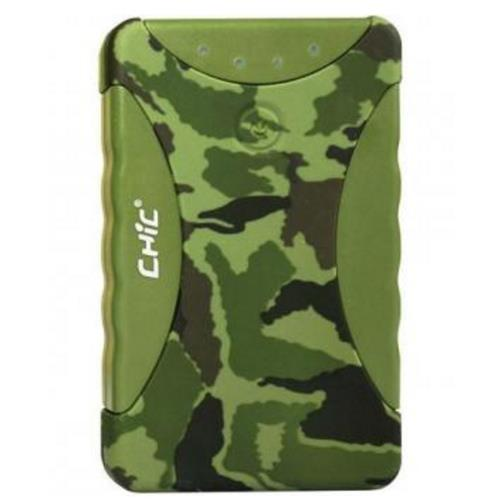 Outdoor Powerbank Camouflage 10400mAh