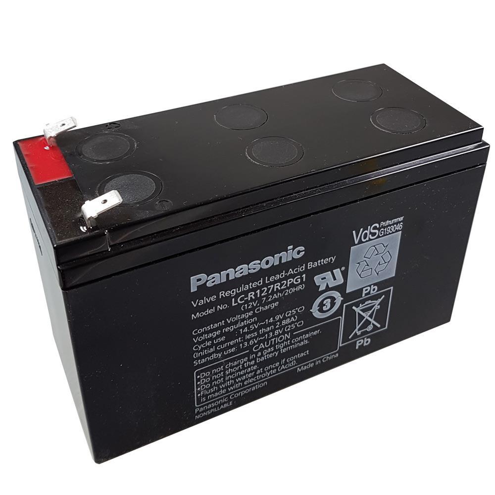 Panasonic LC-R127R2PG1 Ansicht von oben