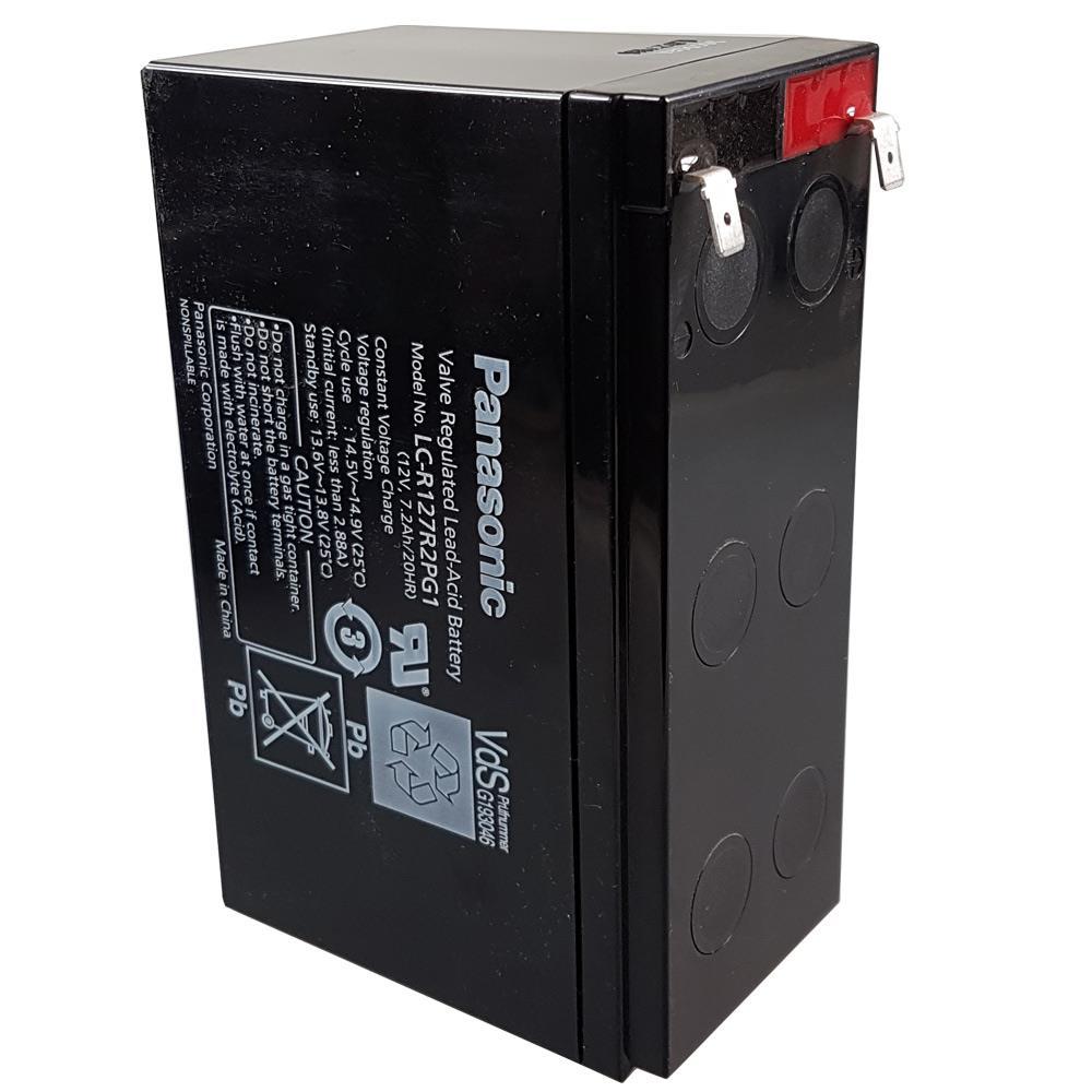 Panasonic LC-R127R2PG1 hochkant stehend