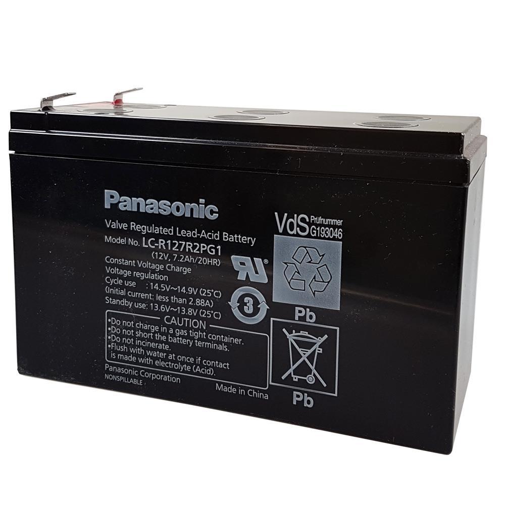 Panasonic LCR127R2PG1 Ansicht schräg von vorn