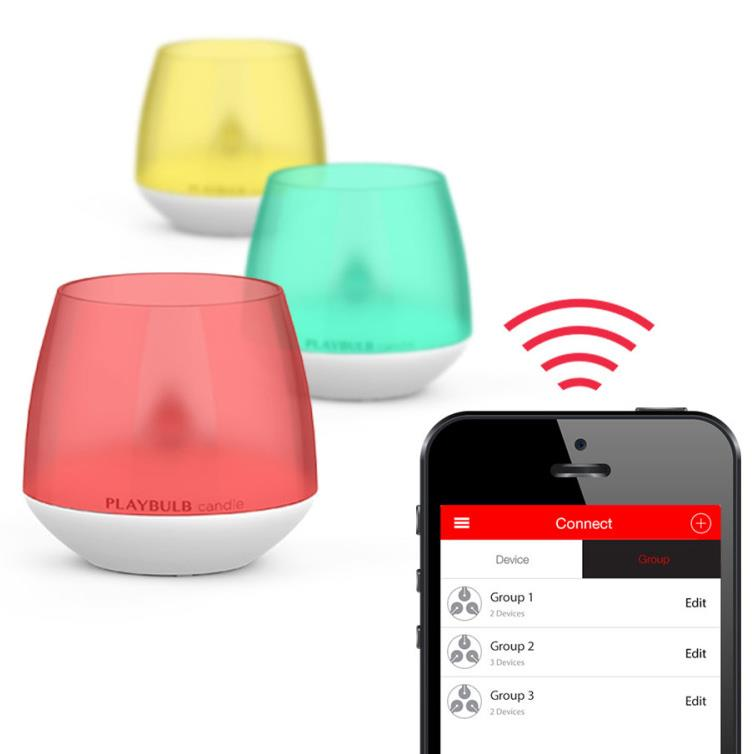 playbulb candle akku led kerze mit farbsteuerung per app. Black Bedroom Furniture Sets. Home Design Ideas