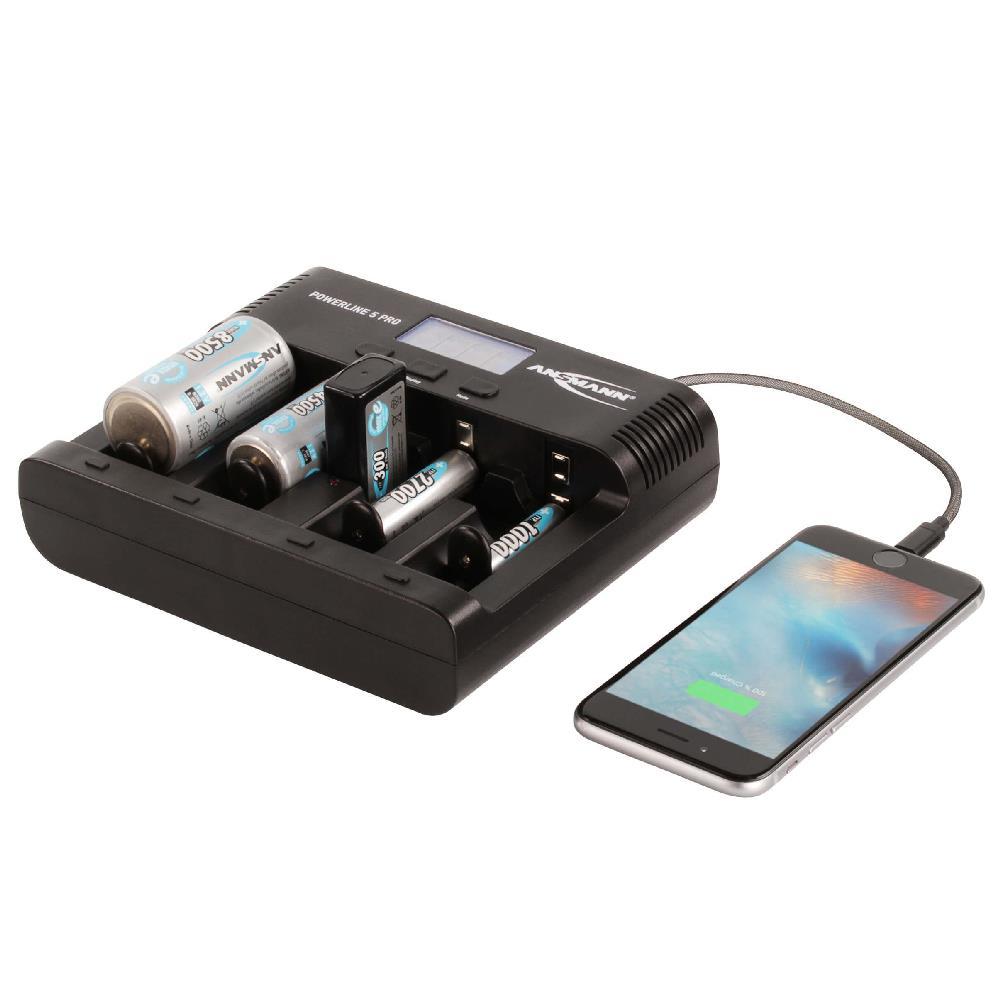 Powerline 5 Pro Ladegerät mit USB