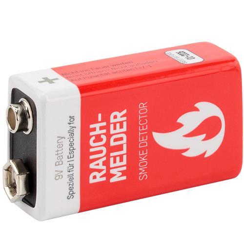 Rauchmelder Batterie 9V Lithium von Ansmann