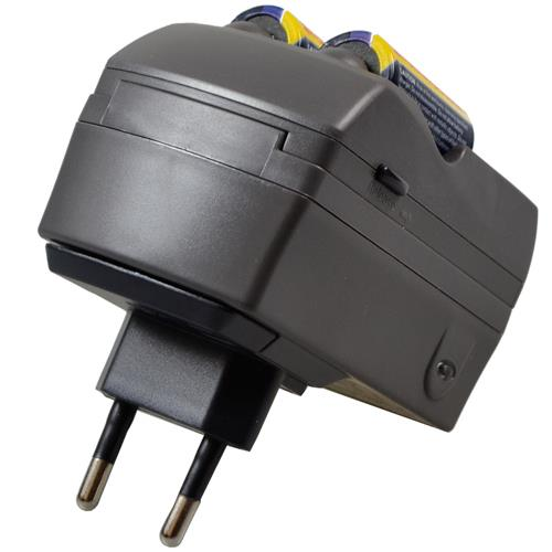 Steckerladegerät für RCR123A Akkus