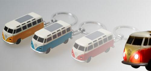VW Bulli Schlüsselanhänger in 3 Farben