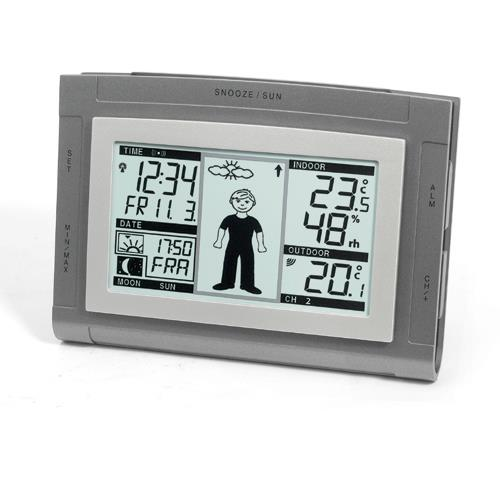 Wetter-Wecker WS-9611 IT von Techno Line
