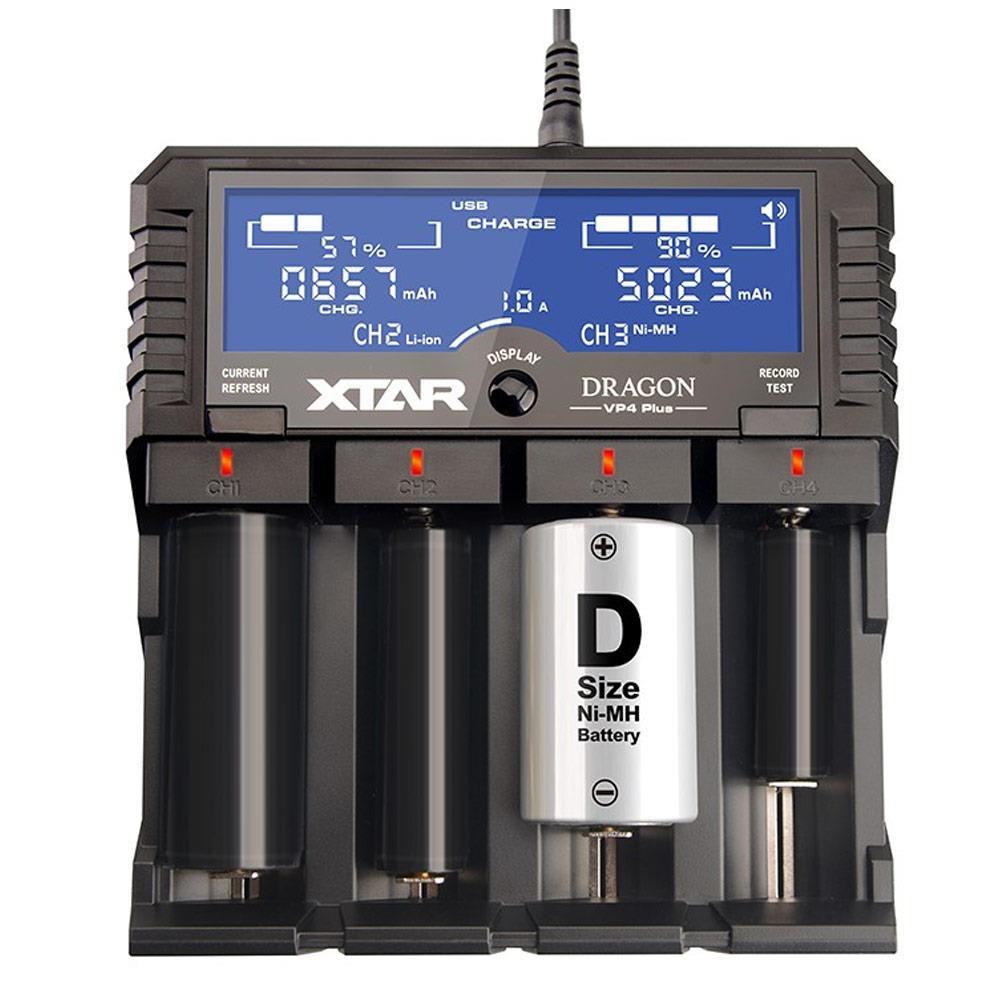 Xtar Dragon VP4 Plus Ladegerät Premium