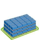 8.801 Paletten mit Alkaline Batterie Müll