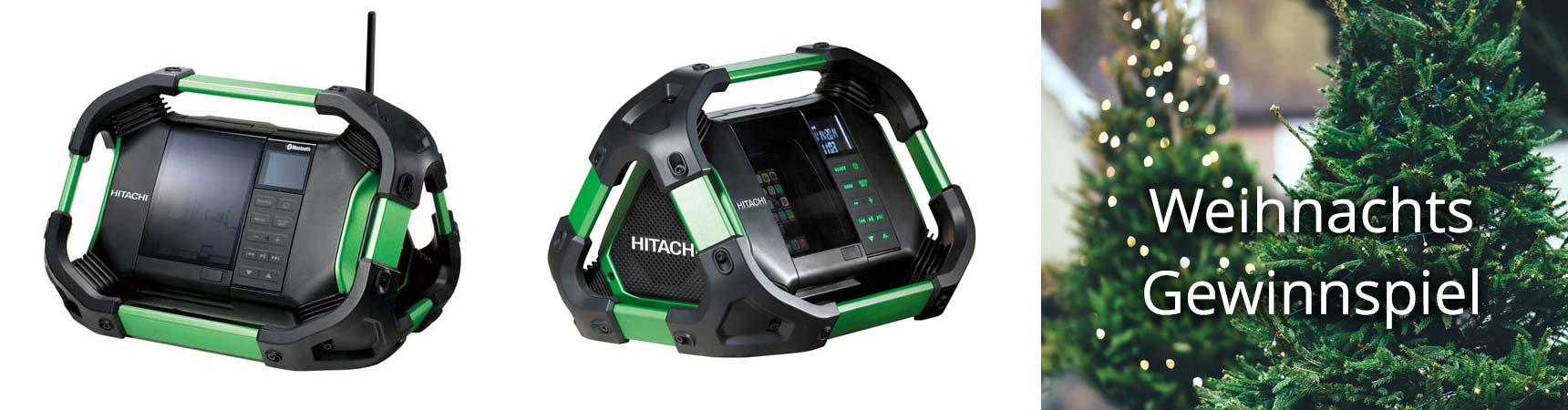 Akku-Radio von Hitachi gewinnen | Gewinnspiel bei Akkuline Shop