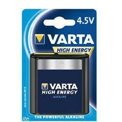 VARTA Flachbatterie 4912 High Energy Flachbatterie im Blister
