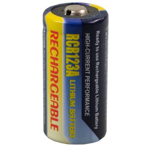 RCR123A Li-Ion Akku, wiederaufladbar 3V 500mAh