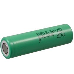 Samsung INR18650-25R Test, erreichte Zeit: 37 Min.
