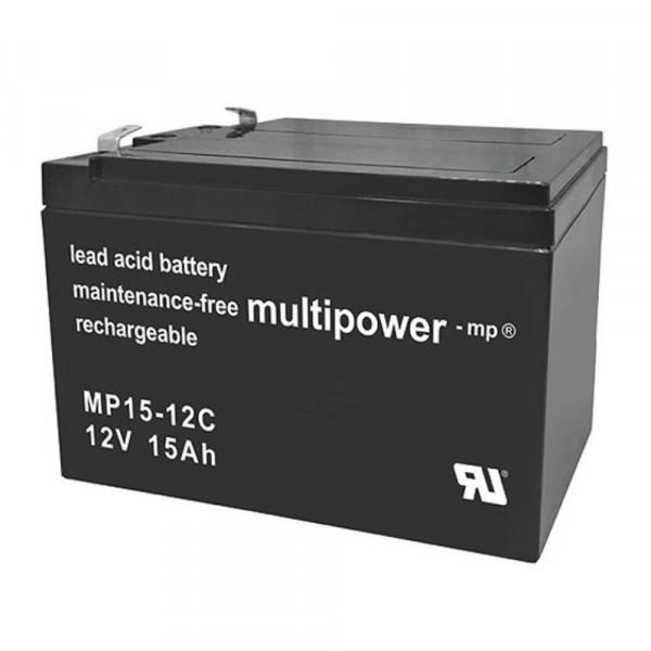 Multipower Blei-Akku MP15-12C