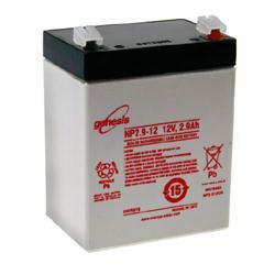 HAWKER ENERSYS Bleiakku Genesis NP2.9-12 12,0Volt 2.900mAh mit 4,8mm Steckanschlüssen