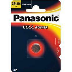 Panasonic CR1216 Lithium Knopfzelle 3Volt 25mAh