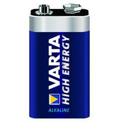Varta High Energy 9Volt-Block Batterie 4922 550mAh AlMN