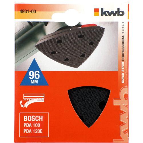 Gelochter Haftstützteller passend zu Deltaschleifer PDA 100, PDA 120 E von Bosch
