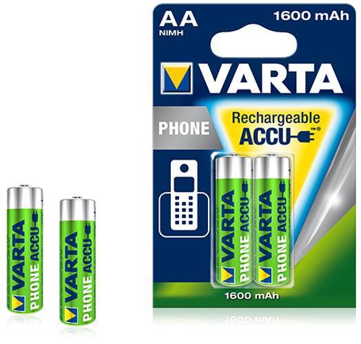 Varta T399 Professional Phone Power Mignon Akkus im 2er Blister