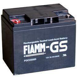 FIAMM Bleiakku FGC23505 12 Volt 35 Ah Zyklentyp mit M5 versenketer Schraubanschluss