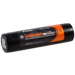 Fenix 18650 ARBL2-3200 Test, erreichte Zeit: 45 Min.
