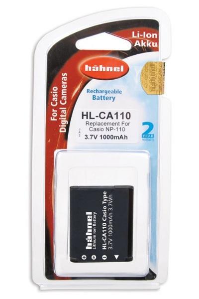 Hähnel Akku passend für Casio NP-110 3,7Volt 1.000mAh Li-Ion (kein Original)