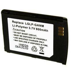 Akku passend für LG LGLP-GANM 3,7Volt 800mAh Li-Poly (kein Original)