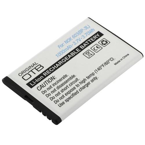 Akku passend für Microsoft & Nokia BP-3L 3,7V 1000mAh Li-Ion zu Lumia 610 (kein Original)