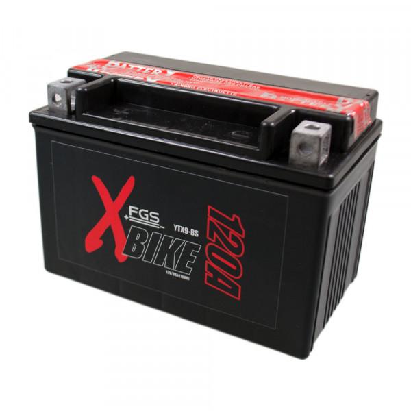 FGS Motorrad-Starterbatterie YTX9-BS 12V 8Ah MC-Pol inkl. 7,50€ Batteriepfand
