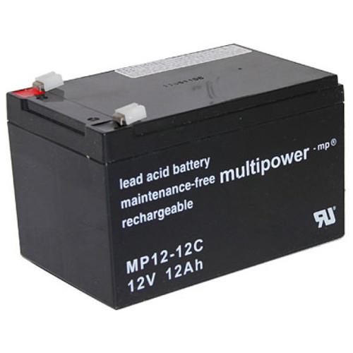 Multipower MP12-12C Bleiakku Zyklentyp 12,0Volt 12Ah mit 6,3mm Steckanschlüssen