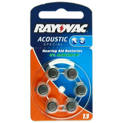 VARTA Hörgeräte-Batterien HA13 Acoustic Special vom Typ 13 (im 6er Pack)