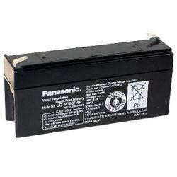 Panasonic Bleiakku LC-R063R4PG 6,0Volt 3,4Ah mit 4,8mm Steckanschlüssen