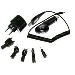 2GO Power Set Handy Set / Mobile mit 5 Ladeadaptern für Li-Poly und Li-Ion Akkus