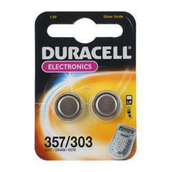 Duracell D357 Knopfzelle