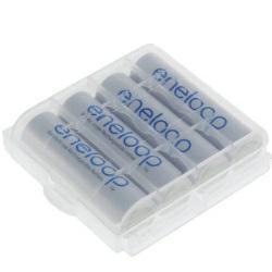 Panasonic eneloop Akku Mignon (AA) BK-3MCCE 4er BonusPack mit Aufbewahrungsbox