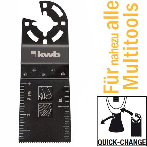 CV Tauchsägeblatt 34 mm für handelsübliche Multitools, mit Quick-Change