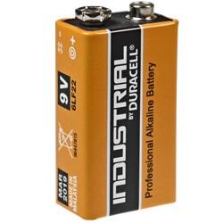 Duracell 9V Industrial Batterie Test, erreichte Zeit: 158 Min.