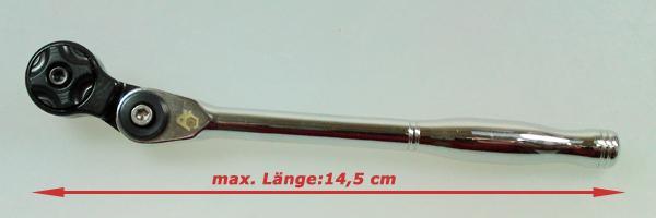 """1/4"""" Winkelratsche Länge (max.) 150mm - Winkel-Ratsche - Knarre"""