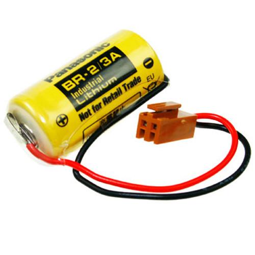 Panasonic CNC CR17335SE-R 3,0 Volt Batterie BR-2/3A mit Kabel und JAE-Stecker