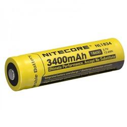Nitecore 3400 NL1834 Test, erreichte Zeit: 49 Min.