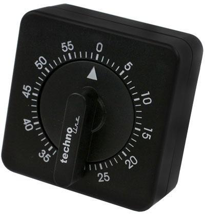 Technoline Kurzzeitmesser KZW analog schwarz