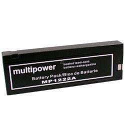 MultiPower Bleiakku MP1222A 12 Volt 2,0 Ah
