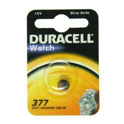 Duracell D377 Knopfzelle