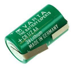 VARTA Lithium Batterie CR1/2AA Spezial-Batterie 3,0Volt mit Lötfahnen in U-Form
