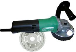 Hikoki G12SE2 + Absaughaube + Diatopf Winkelschleifer 125 mm (G12SE2ASHT)