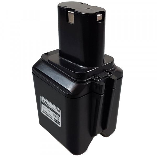 P225 Ersatzakku passend für Bosch 2607335021 mit 12V 2,0Ah Ni-MH