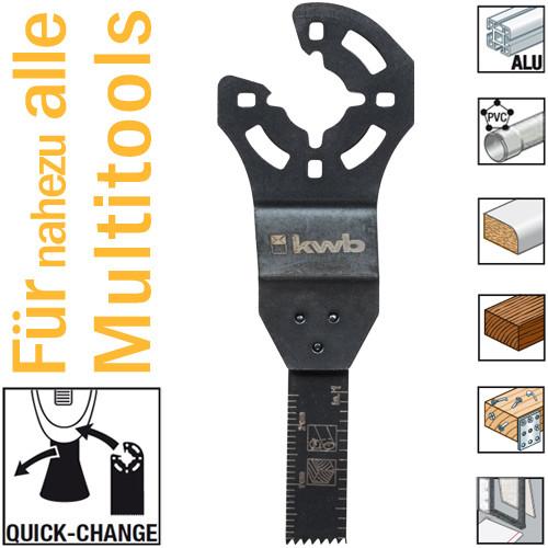 Bi-Metall Tauchsägeblatt 10 mm für Multitools, mit Quick-Change
