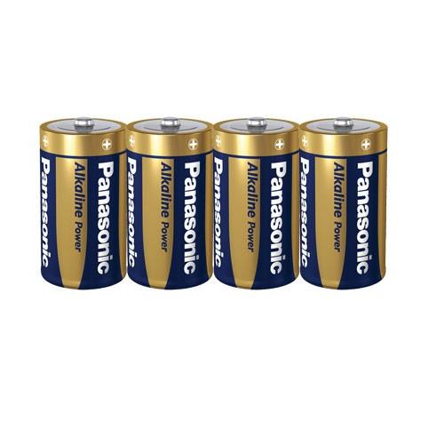 PANASONIC Mono Batterie Alkaline Power LR20APB/4P (4er Pack)