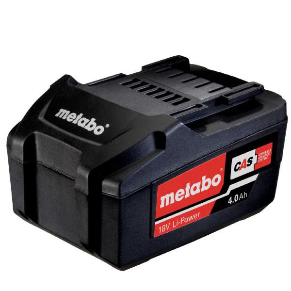 Metabo 625591000 Akkupack 18 V, 4,0 Ah, Li-Power, AIR COOLED