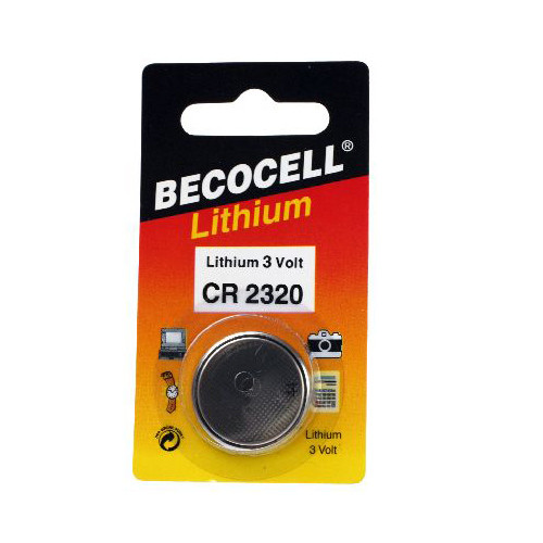 Beco CR2320L Knopfzellen Batterie 3 Volt 130mAh