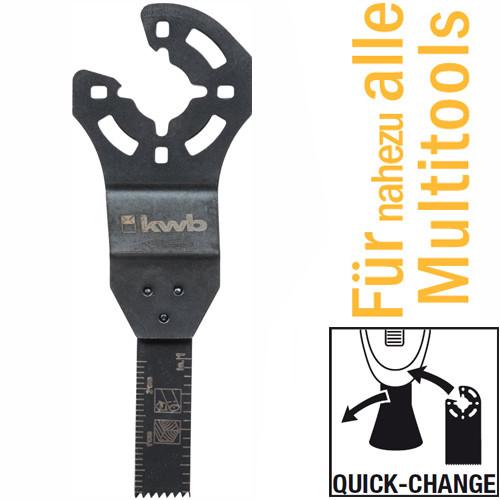 CV Tauchsägeblatt 10 mm für handelsübliche Multitools, mit Quick-Change